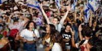 Israël: la fête à Tel Aviv en l'honneur de l'investiture du nouveau gouvernement