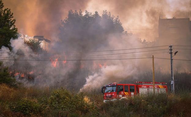 Israël: Incendies sur plusieurs sites dont les montages de Jérusalem