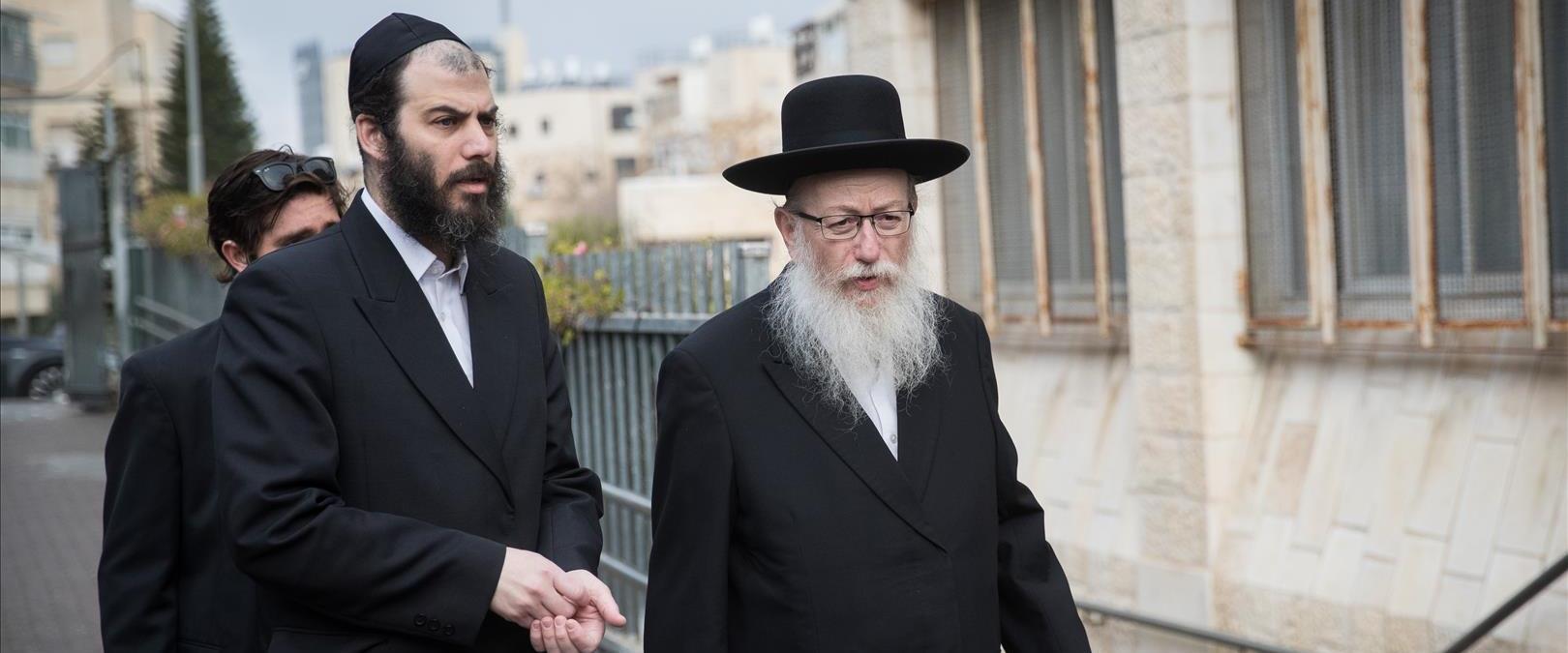 Corruption au bureau du gouvernement : le principal suspect - Moti Babchik, l'assistant principal de Litzman