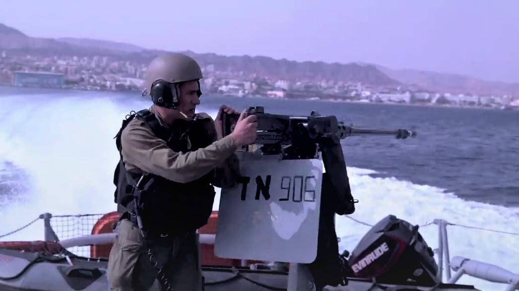 Les soldats de la Mer Rouge en Israël - vidéo-