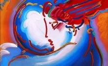 Artiste juif : Peter MaxProméthée psychédélique