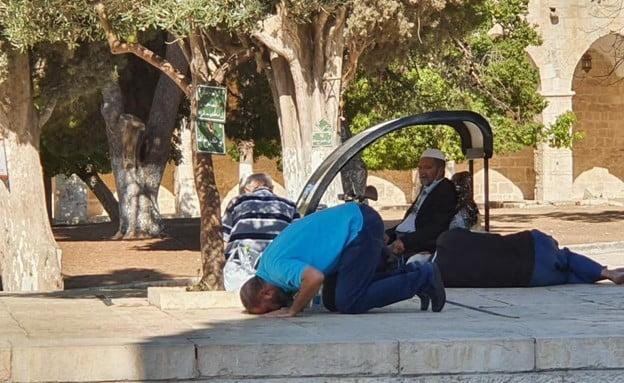 Israël: le mouvement islamiste refuse d'entendre l'hymne national juif au Mont du Temple-vidéo-