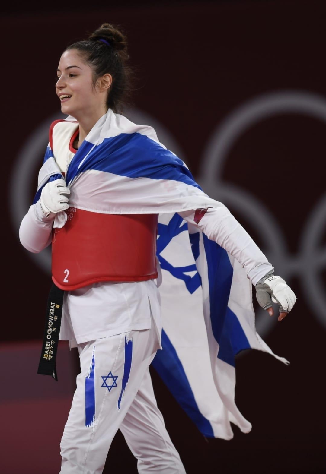 Jeux Olympiques : médaille de bronze pour Israël avec Avishag Samberg
