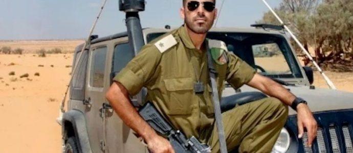 Le soldat de l'armée israélienne musulman et sioniste