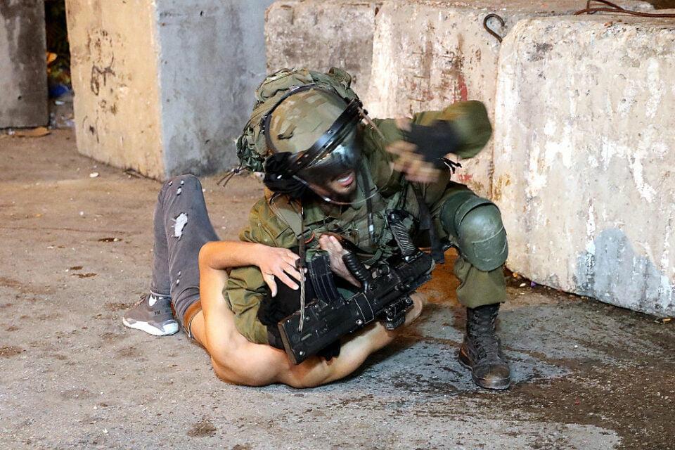 les émeutiers palestiniens neutralisés par l'armée israélienne