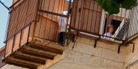 Crainte d'effondrement des balcons supportant les cabanes de Souccot en Israël