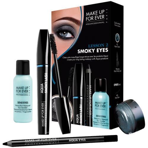 Clin D'Oeil Beauté, Kit Tutoriel Leçon 2 : Smoky Eyes Make Up For Ever