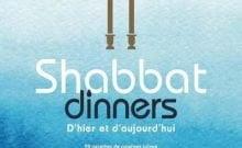 Livre juif : Shabbat dinners d'hier et d'aujourd'hui de Vanessa Zibi