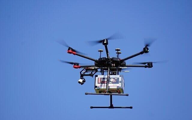 Actualité israélienne : les drones livrent des sushis et des glaces en Israël