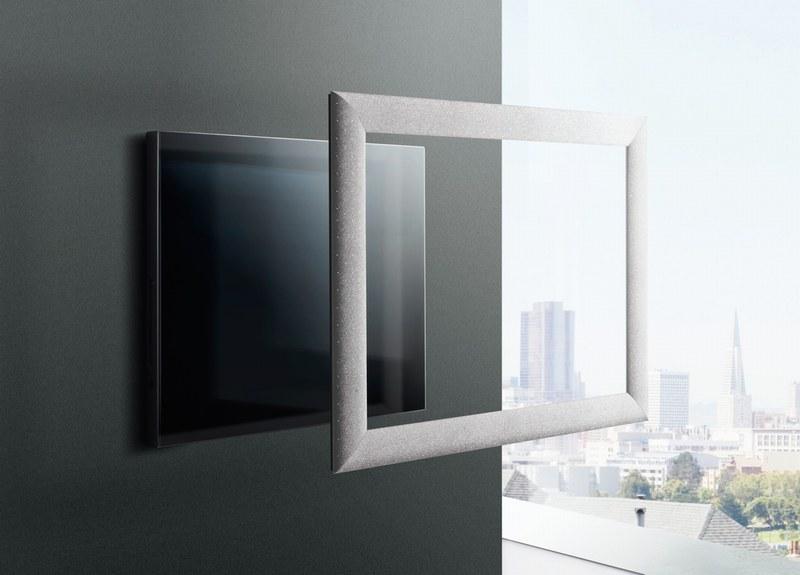 Cadre pour tv ecran plat for Tv ecran plat miroir