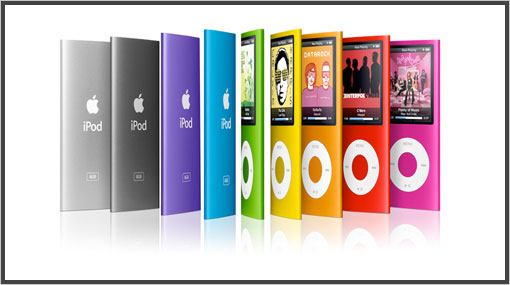 ipod nano-chromatique