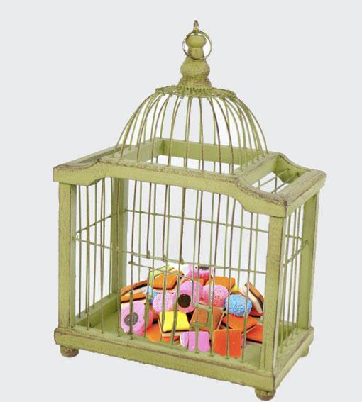 Petite escapade d co d tournez vos cages oiseaux - Decorer une cage a oiseaux ...