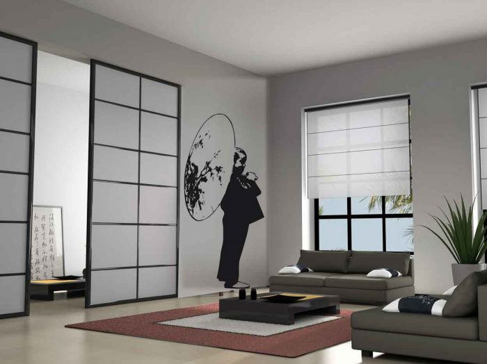 deco japonaise. Black Bedroom Furniture Sets. Home Design Ideas