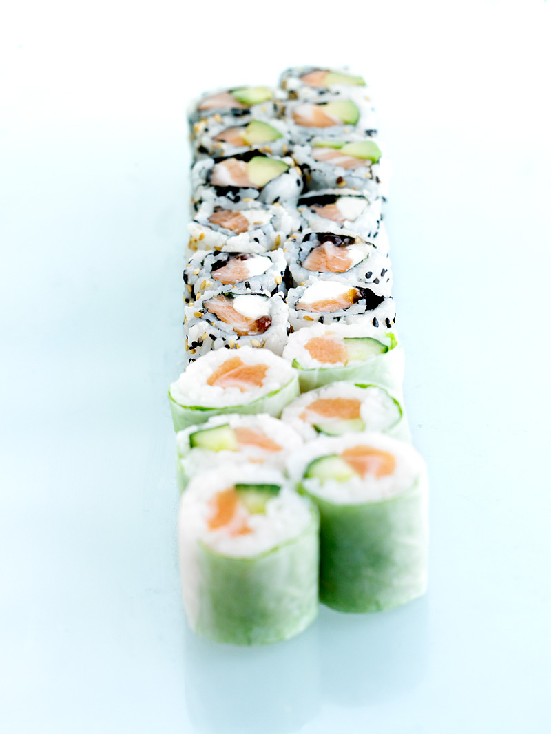 Plat : Maki california roll