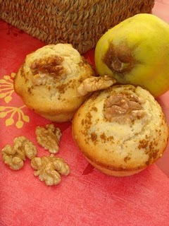 Dessert casher, recette cashere :Muffins aux coings