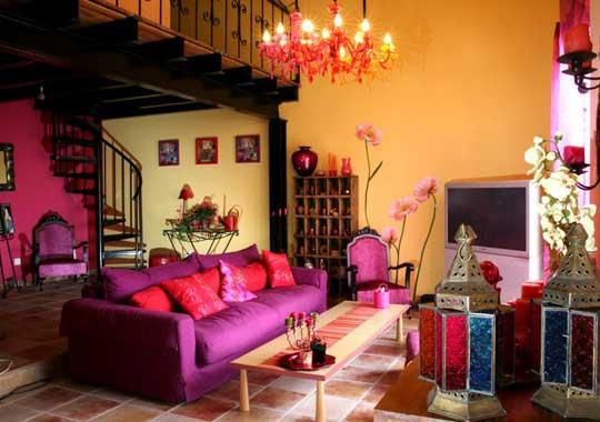 La d co orientale un appel la chaleur alliance le premier magazine de la - Salon berbere moderne ...
