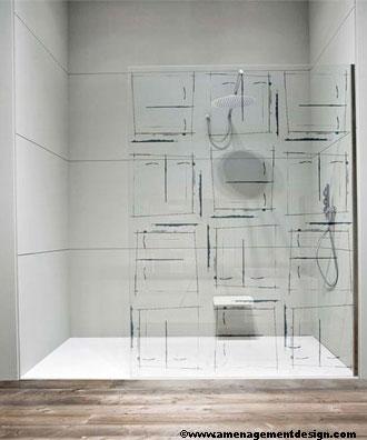 D co tendance design les parois de douche for Salle de bain sans fenetre ni aeration