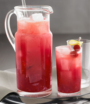 Cocktail : Punch aux framboises